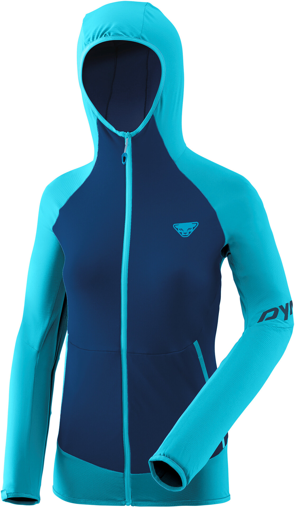 Dynafit Transalper Light Polartec Hoodie Damen silvretta